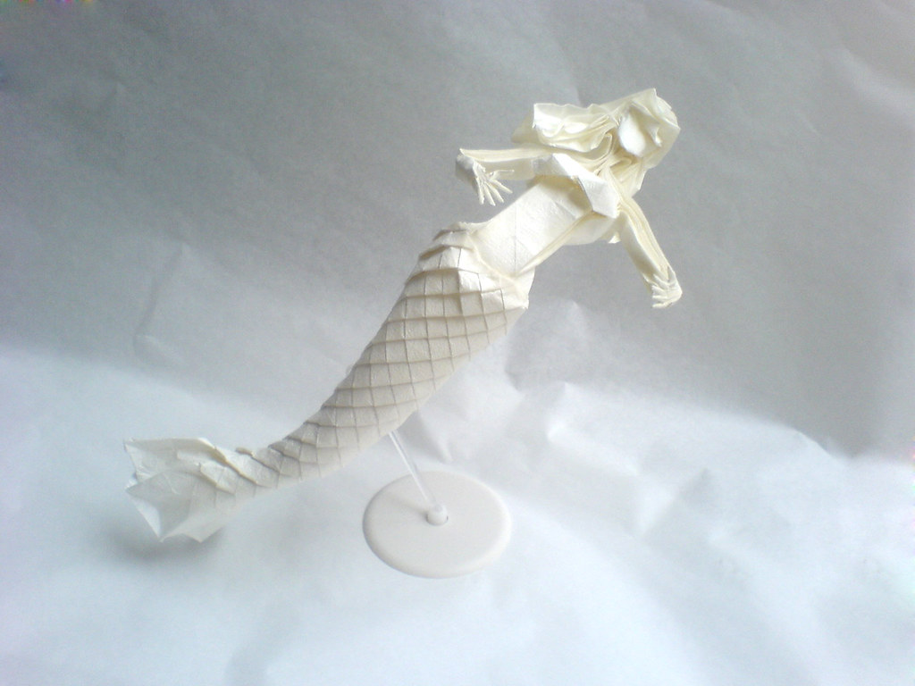 eric joisel origami mermaid diagram 2008 dodge avenger wiring by obelisk inspired and hideo komat 晓 ob猫