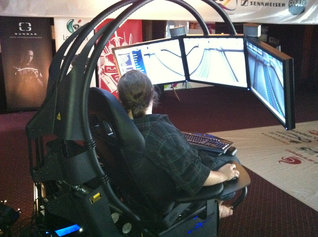 pc game chair swing rate at xlan2011 flickr by thomcochrane