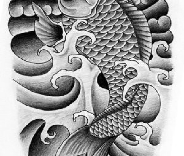 Japanese Koi Fish Tattoo Designs   By Opa_dougie