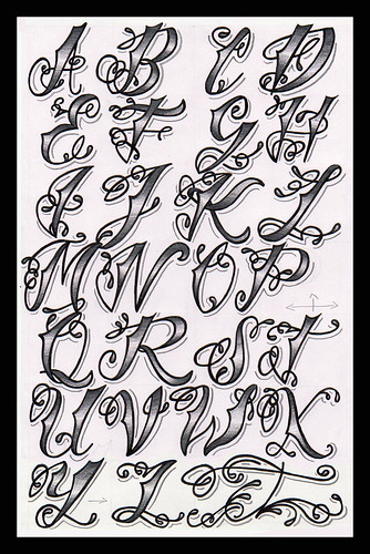 Styles Different Tattoo Z Lettering