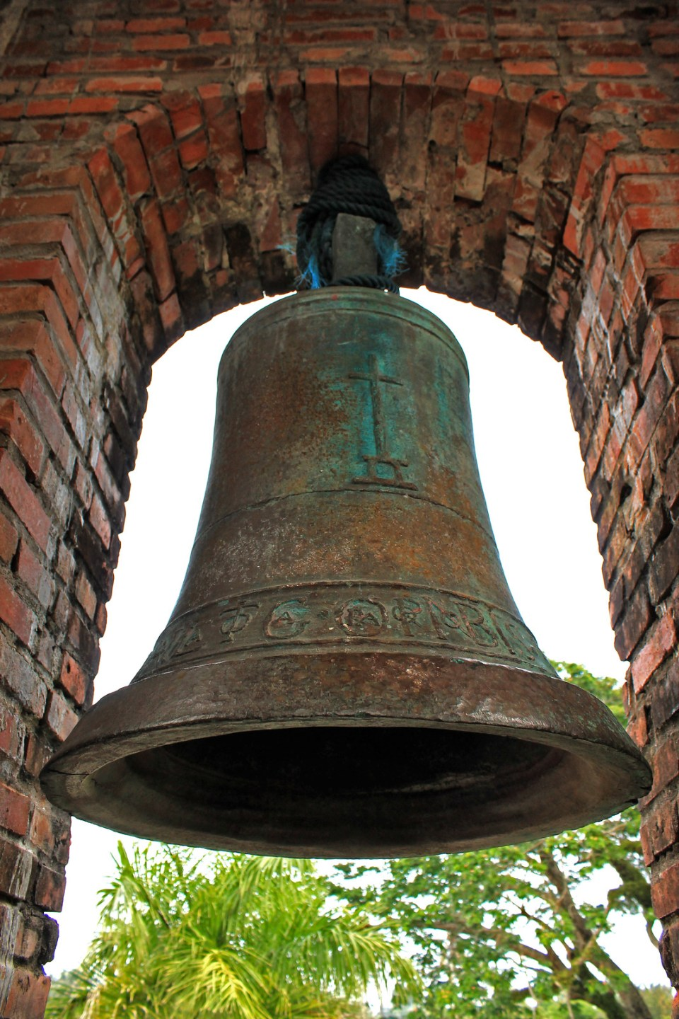 Sancta Maria Bell, forged in 1595