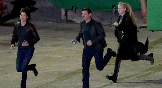 Jack Reacher Never Go Back BTS