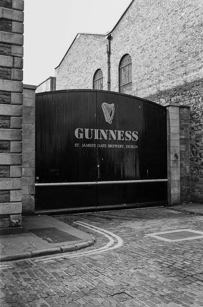 Guinness on Kodak T-Max 400 film