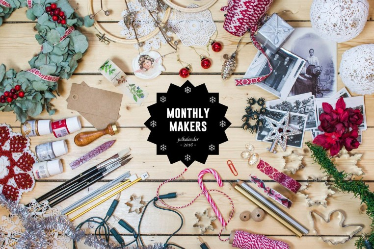 Monthly Makers Julkalender