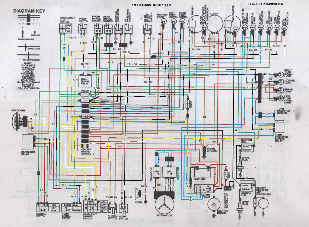Wiring Diagram Bmw R1100rt