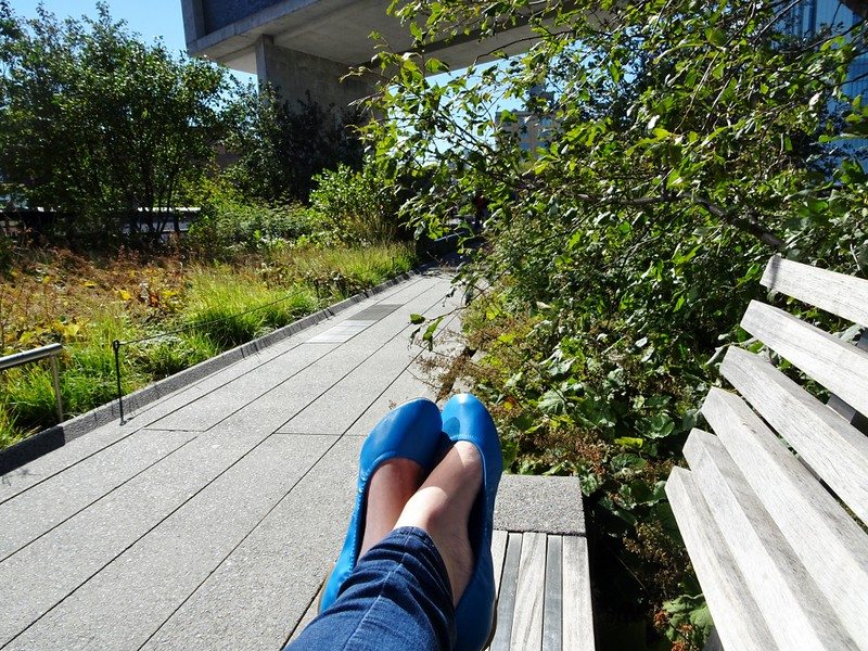 New York Highline - the tea break project solo travel blog