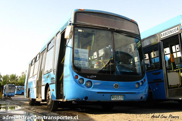 Transantiago 190 | Unitran | Metalpar Tronador - Mercedes Benz / WH2070