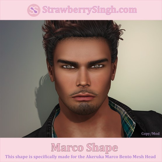 StrawberrySingh.com Marco Shape
