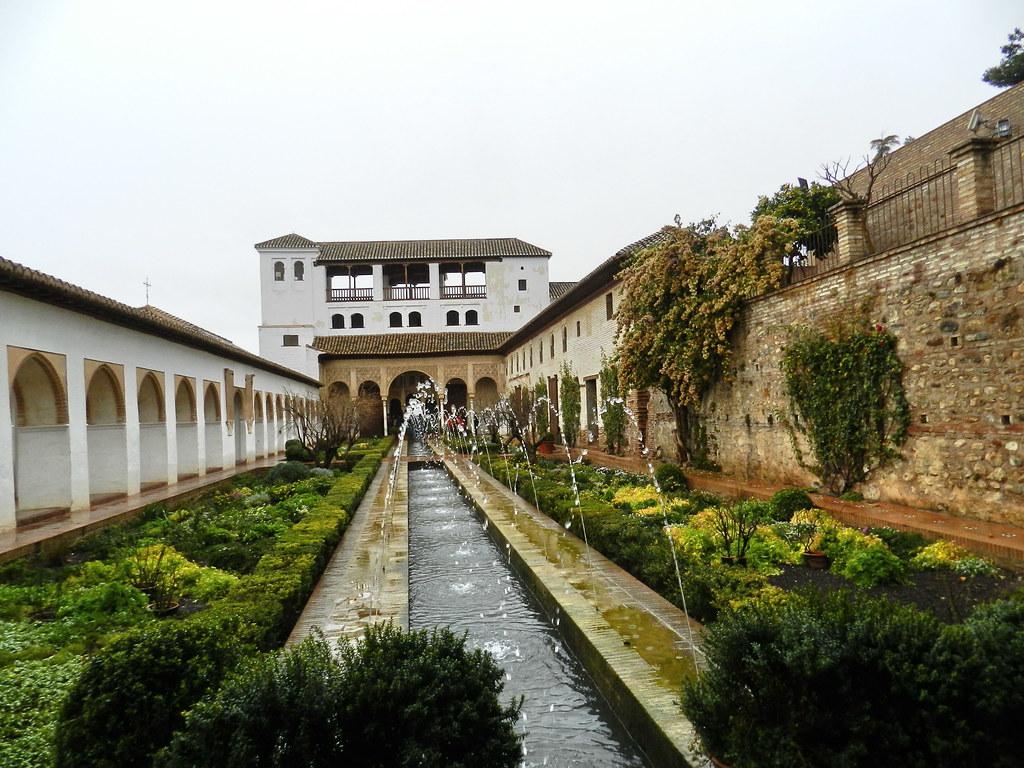 Granada Palacio del Generalife Patrimonio de la Humanidad 01