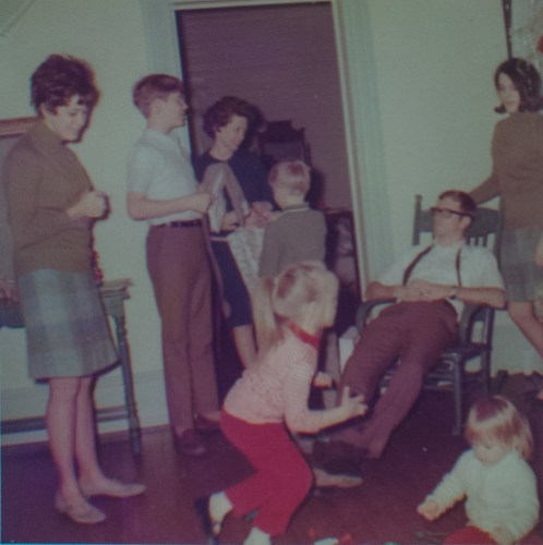 Taylor Siblings Christmas 1967