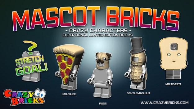Mascot Bricks on Kickstarter Now!