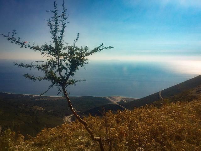 The road to Vlorë.