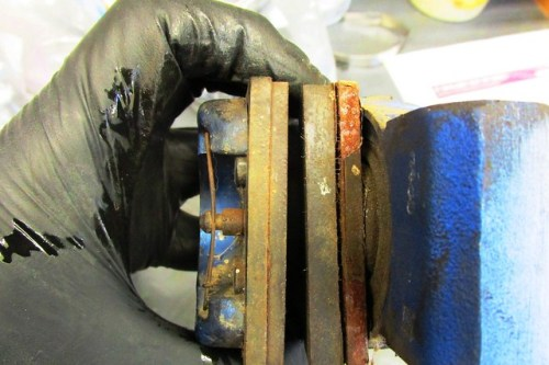 Friction Material Is Separating from Steel Backing Plate