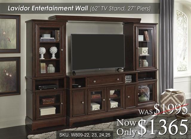 Lavidor Entertainment Wall W809-22-23-24-25