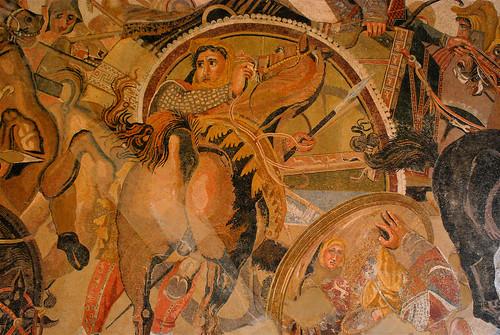 MANN Mosaico Pompei Casa del Fauno Battaglia di Isso