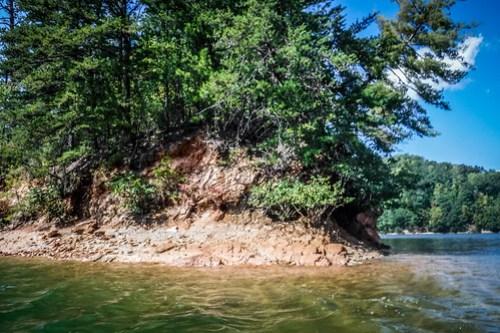Lake Jocassee with Bennie Waddell-44