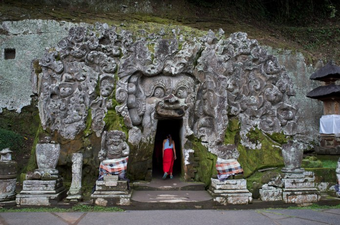 Image result for ubud elephant cave
