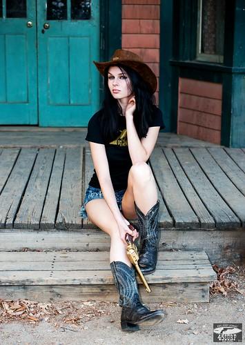 Nikon D800E Photos Cowgirl Model Goddess with Cowboy Boots  Flickr