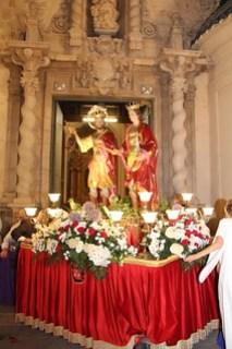 Misa y procesión Sants Patrons