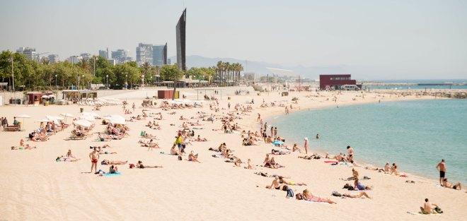 Barcelona Platja Playa beach strand