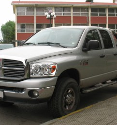dodge ram 2500 heavy duty big horn quad cab 4x4 2009 by rl gnzlz [ 1024 x 768 Pixel ]