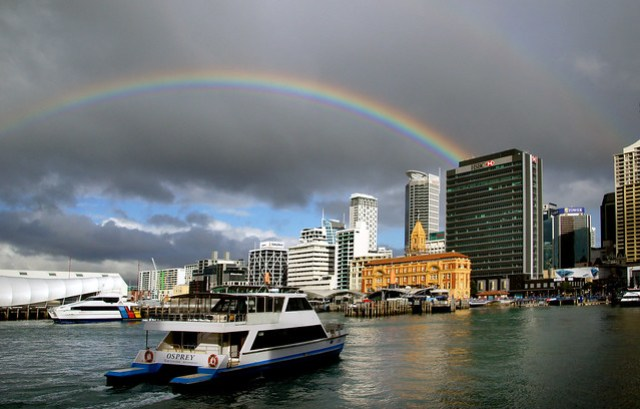 Auckland waterfront.NZ