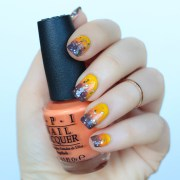 ombre fall manicure - living