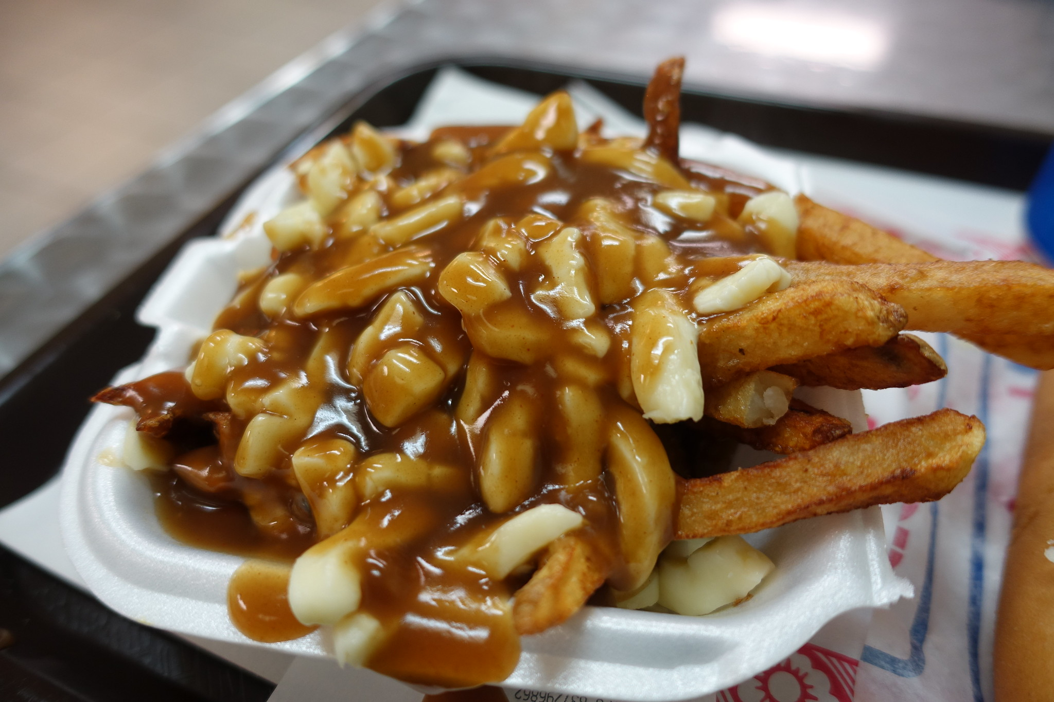 Poutine, photo credit Guilhem Vellut via Flickr, used unmodified under CC BY 2.0 Attribution license
