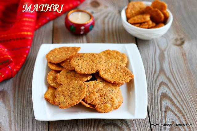 Mathri - Diwali special