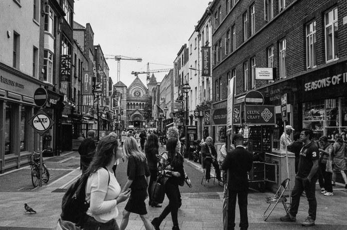 Dublin street scene