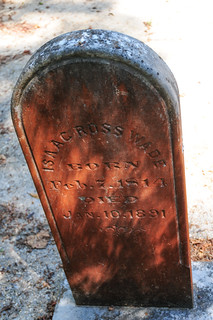 Prospect Hill1249 Grave of Isaac Ross WadeContested th