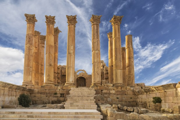 Visitar Jerash en Jordania