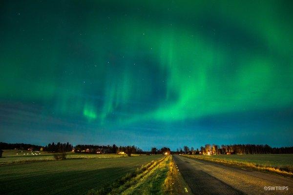 Aurora over Lovanger (2) - Lovanger, Sweden.jpg