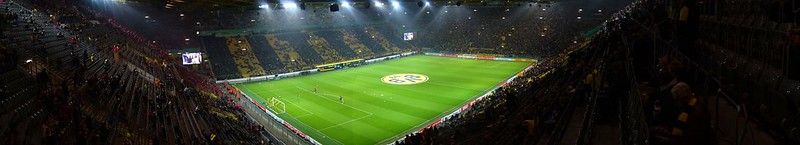 Borussia Dortmund vs. 1.FC Union Berlin 1:1(3:0 after penalties), Westfalen Stadion, DFB Pokal 2016/17 2nd round, pre-match