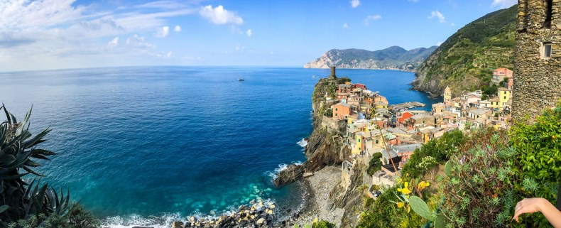 Vernazza - the views are stunning.