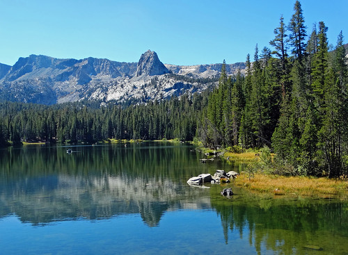 Forest Wallpaper Hd Lower Twin Lake Mammoth Lakes Ca 9 16 1 In A Multiple