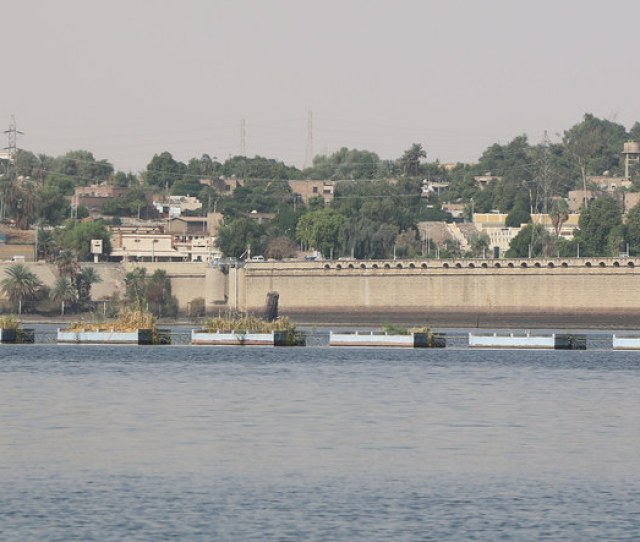 Aswan Low Dam Aswan Egypt 2015 By Travfotos