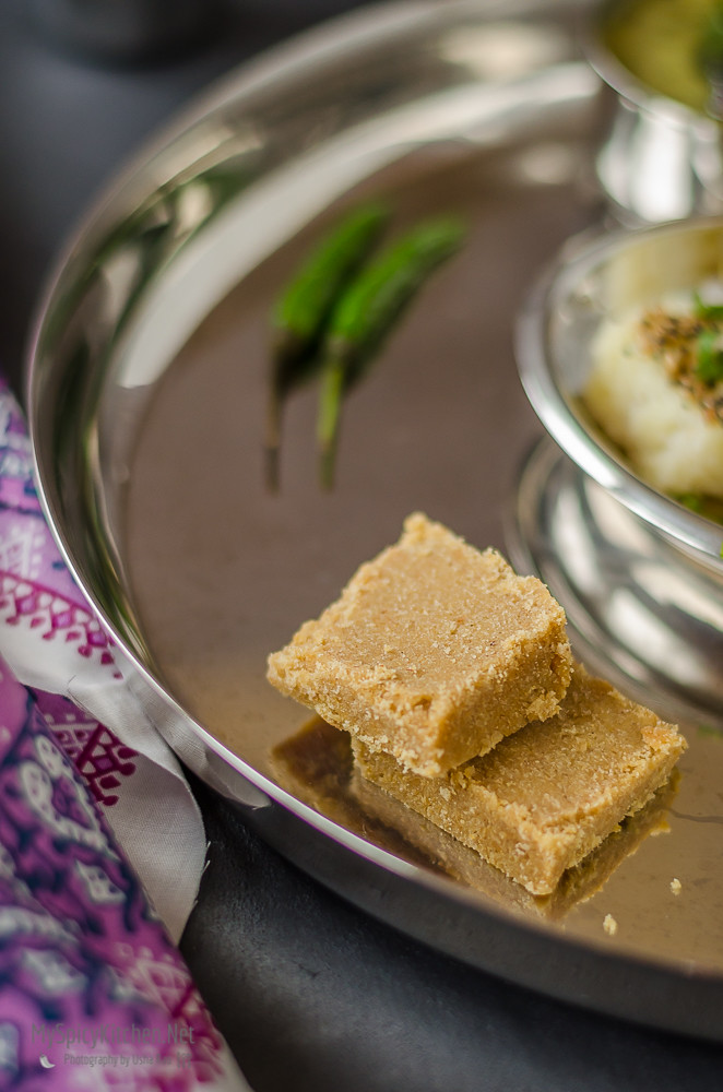 Indian Fudge, Wheat Flour Jaggery Squares, Sukhdi, Indian Sweet, Gujarati Sweet,