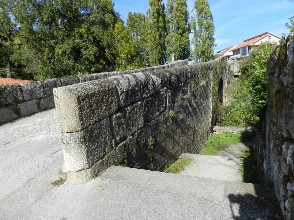 Puente Medieval de Vilanova Allariz Orense 02