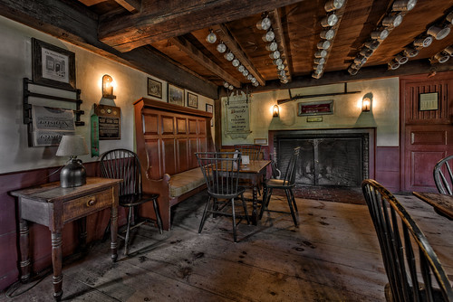 Haunted House 3d Wallpaper The Old Bar Room Longfellow S Wayside Inn A Nationally