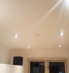 guide lower ceiling and install led downlight [ 1600 x 900 Pixel ]