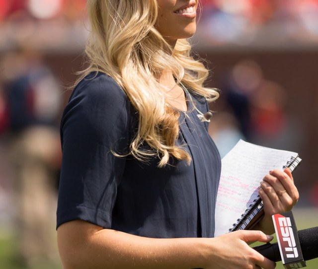 Espn Sideline Reporter Olivia Harlan By Tate Nations