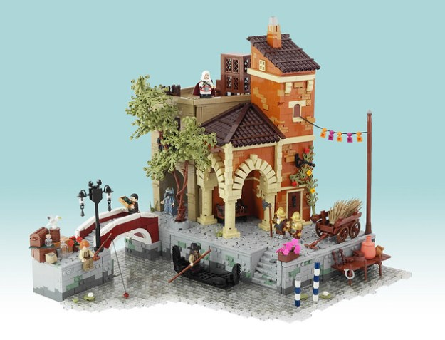 Venice 1486 An Assassin S Creed Ii Scene In Lego Lego Medan