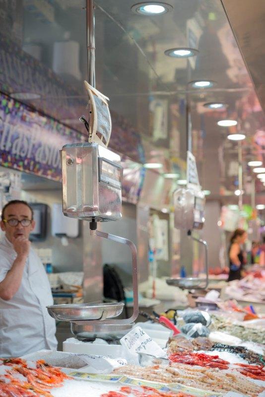 Valencia Spain city market