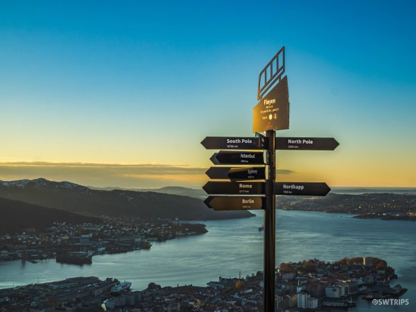 Distance Sign - Bergen, Norway.jpg