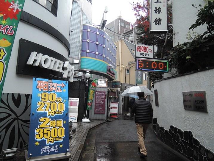 ALOJAMIENTOS EN JAPON