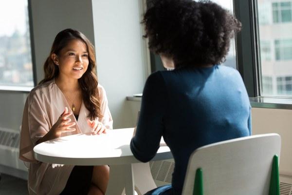 two women interns wanting full-time job miss millennia magazine