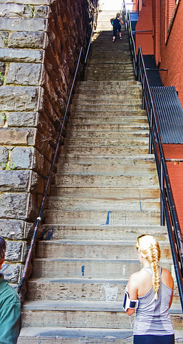 Exorcist Georgetown Stairs Washington DC  In Explore  Flickr