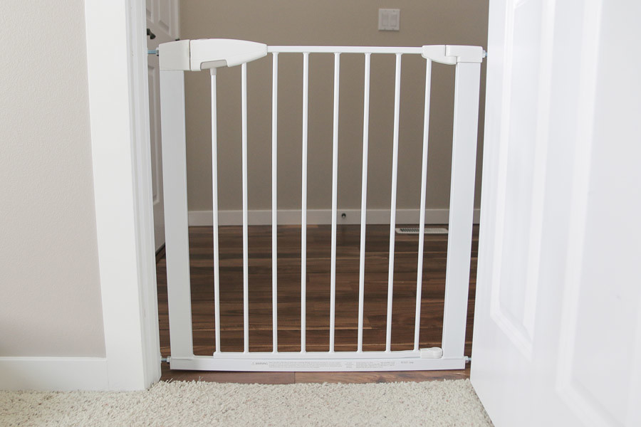 Image result for Munchkin white baby gate in doorway flickr