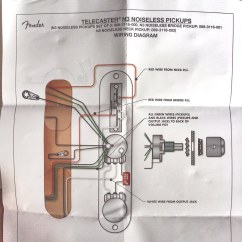 Fender N3 Noiseless Pickup Wiring Diagram One Wire Driver Telecaster Pickups Flickr By Teddylambec